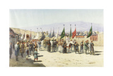 Shakhsei-Vakhsei, Religious Procession of Muslims Giclee Print by Richard Karlovich Zommer