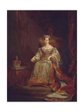 Queen Victoria, 1838 Giclee Print by Sir George Hayter
