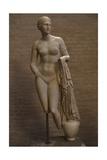 Aphrodite of Cnidus. Roman Statue. 1st Century BC Giclee Print