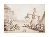 Figures at a Fair, 1803 Giclee Print by Thomas Rowlandson