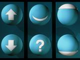 Artwork of the Six Types of Quark Posters par Laguna Design