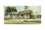 Life in the South Giclee Print by William Aiken Walker