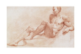 A Reclining Nude Giclee Print by Pietro Dandini