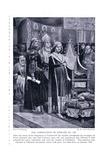 The Coronation of Edward III Ad1327 , 1920's Giclee Print by Richard Caton II Woodville