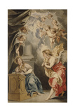 The Annunciation Giclee Print by Jacob De Wit