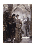 Scenes from Romeo and Juliet: the Ball Scene (I, V), 1882 Giclee Print by Frank Bernard Dicksee