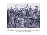 The Battle of Poitiers Ad1356, 1920's Giclee Print by Richard Caton II Woodville