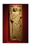 Relief of Archangel Michael. 13th Century Giclee Print