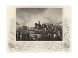 Duke of Wellington and His Staff at Waterloo Giclee Print by G.W. Terry