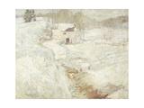 Winter Landscape, 1890's Giclee Print by John Henry Twachtman