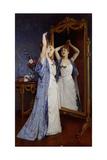 The Toilet; La Toilette, 1889 Giclee Print by Auguste Toulmouche