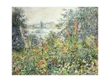 Flowers at Vetheuil; Fleurs a Vetheuil  1881