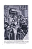 Coronation of Richard II Ad1377, 1920's Giclee Print by Amedee Forestier