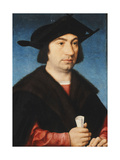 Portrait of Stefano Raggio, Half-Length Giclee Print by Joos Van Cleve