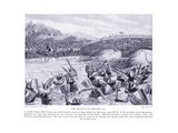 The Battle of Malden Ad991, 1920's Giclee Print by Alfred Pearse