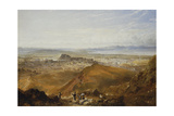 Edinburgh from Arthur's Seat Giclee Print by Hugh William Williams