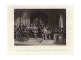 Exclusion of Members Obnoxious to the Army from the House of Commons Giclee Print by George Cattermole