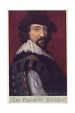 Sir Francis Bacon (1561-1626), English Philosopher and Author Giclee Print by Cecil Watson Quinnell