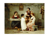 Afternoon Pasttimes Giclee Print by Paul Alfred De Curzon