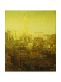 New York Cityscape Giclee Print by Paul Cornoyer