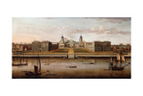 View of the Royal Hospital, Greenwich, from the Thames Giclee Print by Samuel Scott