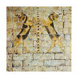 Lion Mural from Shalmanasser Palace Giclee Print