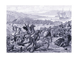 The Great Battle of Brunanburgh Ad937, 1920's Giclee Print by Alfred Pearse