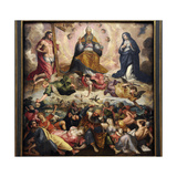 The Last Judgement, 1600-25 Giclée-Druck von Cornelis de Vos