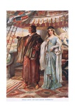 Prince Henry and Elsie Sailing Home Giclee Print by John Henry Frederick Bacon