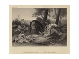 A Wild Boar Hunt Giclee Print by Frans Snyders