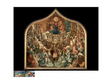 The Coronation of the Virgin Giclee Print by Albert Cornelis