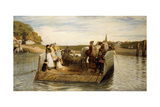 The Ferry, 1881 Giclee Print by Robert Walker Macbeth