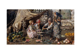 The Snack; La Merenda Giclee Print by Vicenzo Irolli