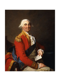 Portrait of William Petty, 2nd Earl of Shelburne, 1st Marquis of Lansdowne (1737-1805), Seated… Giclee Print by Jean Laurent Mosnier