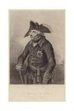 King Frederick II of Prussia Giclee Print by Johann Heinrich Ramberg