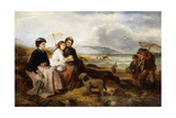 At the Seaside, 1877 Giclee Print by Thomas Falcon Marshall