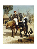 An Exotic Visitor, 1857 Giclee Print by Jules Didier