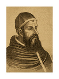 Pope Clement VII (1478-1534). Engraving Giclee Print