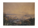 A View of Constantinople, 1866 Giclee Print by Amadeo Preziosi