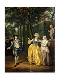 The Refusal, 1772 Giclee Print by Jacobus Buys