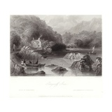 Glengariff Inn in County Cork Giclee Print by William Henry Bartlett