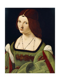 Portrait of a Lady, Said to Be Clarice Pusterla, Half-Length, in a Green Dress Giclee Print by Giovanni Antonio Boltraffio