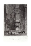 Interior of Milan Cathedral Giclee Print by James Duffield Harding