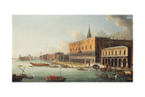 The Bacino Di San Marco, Venice, Looking West, C.1740s Giclee Print by Antonio Joli