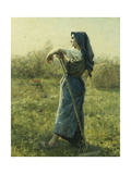 The Harvester, 1892 Giclee Print by Jules Breton