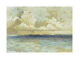 Bahama Island Light, 1883 Giclee Print by Thomas Moran
