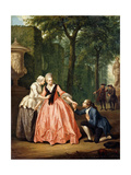 The Proposal, 1771 Giclee Print by Jacobus Buys
