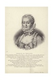 Marquise De Pompadour Giclee Print by Francois-Hubert Drouais