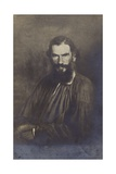 Leo Tolstoy, Russian Novelist Giclee Print by Ivan Nikolaevich Kramskoy