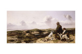 Lytham Sandhills, 1864 Giclee Print by Richard Ansdell